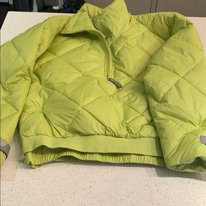 Adidas x Stella McCartney green puffer size 36